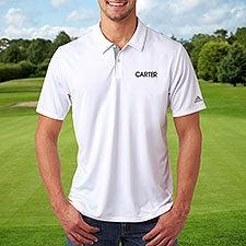 Custom Embroidered adidas Polo Shirts