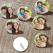 Personalized Golf Ball Markers - 3 Photo - 21601