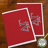 Delta Gamma Sorority Personalized Folders - 21650