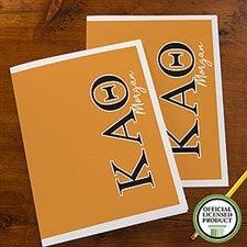 Kappa Alpha Theta Sorority Personalized Folders - 21653