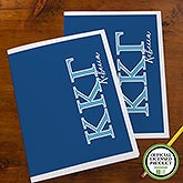 Kappa Kappa Gamma Sorority Personalized Folders - 21655