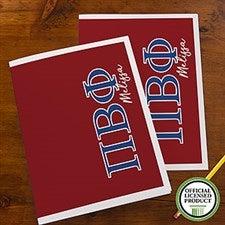Pi Beta Phi Sorority Personalized Folders - 21656