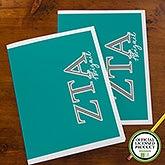 Zeta Tau Alpha Sorority Personalized Folders - 21657