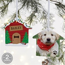 Good Dog! Personalized Dog House Ornament - 21698