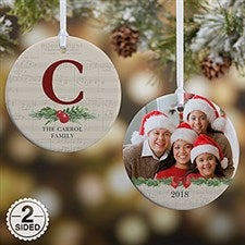 Personalized Christmas Ornaments - Nostalgic Noel - 21712