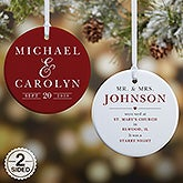 Personalized Wedding Ornament - All About The Big Day - 21713
