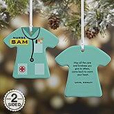 Personalized Nurse Christmas Ornament - 21717
