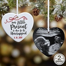 Personalized Expecting Ornament - Our Little Present - 21718