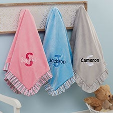 Embroidered Baby Blanket With Any Name - 21735