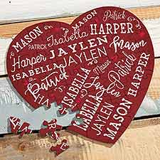 Close to Her Heart Personalized Puzzle - 21764