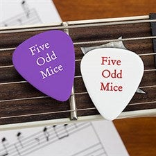 Personalized Band Guitar Picks - 21768