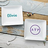 Personalized Ring Dish - Monogram or Name - 21778