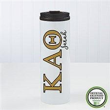 Kappa Alpha Theta Sorority Personalized Travel Tumbler - 21812