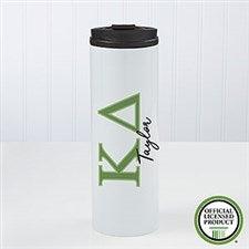 Kappa Delta Sorority Personalized Travel Tumbler - 21813