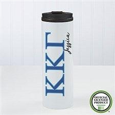 Kappa Kappa Gamma Sorority Personalized Travel Tumbler - 21814