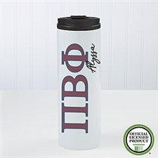 Pi Beta Phi Sorority Personalized Travel Tumbler - 21815