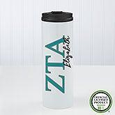 Zeta Tau Alpha Sorority Personalized Travel Tumbler - 21816