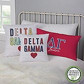 Delta Gamma Personalized Sorority Pillows - 21853