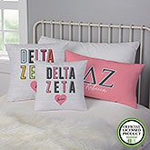 Delta Zeta Personalized Sorority Pillows - 21854
