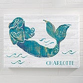 Personalized Mermaid Canvas Art - 21862