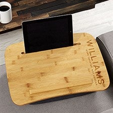 Personalized Wood Lap Desk - Bold Style - 21938