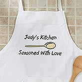 Custom Apron and Potholder Set - You Design it