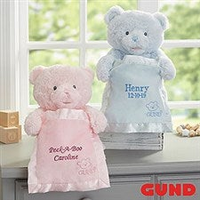 Personalized Gund My First Peek-A-Boo Teddy Bear - 22002