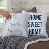Home Expressions Personalized Reversible Sequin Throw Pillow - 22009