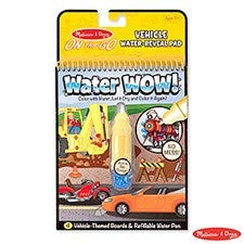 Melissa & Doug Vehicles Water Wow Activity Book - 22033