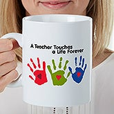 Personalized Oversized Teacher Coffee Mug - 22043