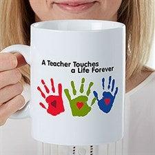 Personalized Oversized Teacher Coffee Mug - 22043