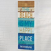Beachscape Inspiration IV Personalized Canvas Art Print - 22055