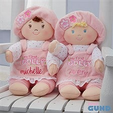 Personalized Gund My First Dolly - 22166