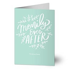 Merrily Ever After Holiday Greeting Cards - 22190