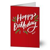 Happy Birthday Holiday Greeting Cards - 22210