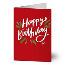 Happy Birthday Holiday Greeting Cards - 22210