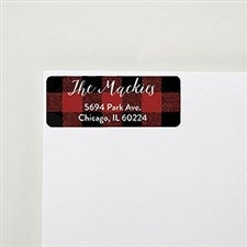 Buffalo Check Return Address Labels - 22296