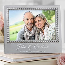 Mariposa Personalized Anniversary Picture Frame - 22336