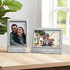 Mariposa Personalized Romantic Picture Frame - 22338