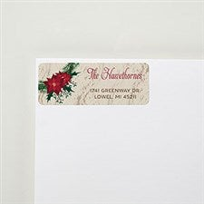 Wreath Return Address Labels - 22367