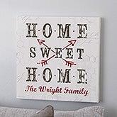 Farmhouse Home Personalized Canvas Prints - 22405