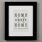 Farmhouse Home Personalized Framed Prints - 22406