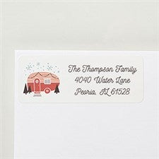 Vintage Camper Personalized Return Address Labels - 22412