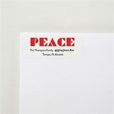Peace Personalized Return Address Labels - 22418