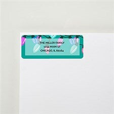 Merry & Bright Return Address Labels - 22498