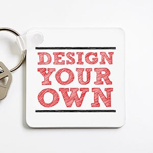 Design Your Own Personalized Keychain