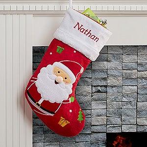 Personalized Christmas Stockings - Santa Claus - 16275-S