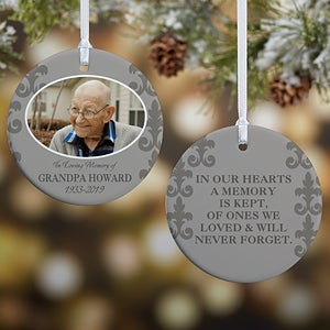 2018 personalized memorial christmas ornaments personalization mall