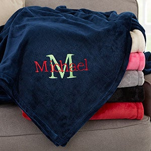 Make A Custom Blanket.Personalized Blankets Personalizationmall Com