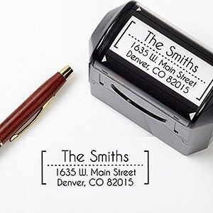 Modern Address Self Inking Stamp
